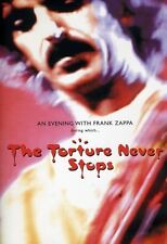 Evening with Frank Zappa During Which... The Torture Never Sto (2010, DVD NIEUW)