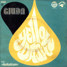 "Giuda - Yellow Dash 7"" vinyl **NEW YELLOW VINYL**"