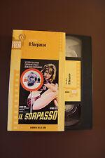 Il sorpasso VHS originale edizione GRANDI FILM