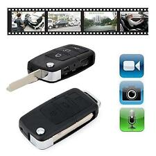 AUTO KEYFOB TELECOMANDO SPY TELECAMERA MINI DVR VIDEO / registratore audio con rilevamento di movimento