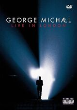 GEORGE MICHAEL LIVE IN LONDON 2 DVD ALL REGIONS PAL NEW