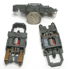 3 1981 TYCO Vintage 440 MAGNUM Slot Car NARROW Chassis Unused; JUST ADD WHEELS!