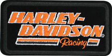 HARLEY DAVIDSON H-D Racing  4 INCH  harley PATCH