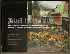 Duel In The Mist The Leibstandarte During Ardennes Volume 1 Stefan De Meyer AFV