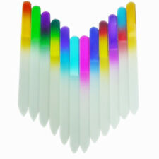 New Durable Crystal Glass Nail Art Buffer Files Pro Nail File Manicure Tool
