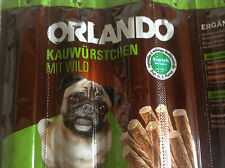 Dog Treats Salami Meat Sticks Chews 8 pieces GAME like Vitakraft FREE POST, Pug!