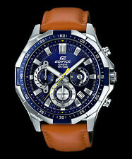 EFR-554L-2A Blue Casio Men's Watches Edifice Date Analog Full Box Packy New
