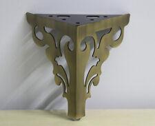 4pcs Set 6'' Bronze Color Furniture Feet Vintage Style Metal Sofa Legs Free Ship