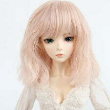 New BJD Doll Hair 1/3 8~9'' SD DZ DOD LUTS Wavy Curly Costume Synthetic Full Wig