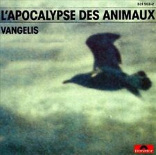 VANGELIS L'Apocalypse Des Animaux Original Soundtrack Ambient CD