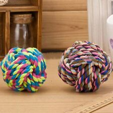 1PCS Pet Nuts For Knots Large Cotton Rope Strengthen Teeth Ball Dog Toy MGU049