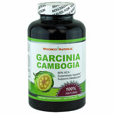 100% Pure Natural Garcinia Cambogia 60% HCA Weight Loss Diet Pills 180 Caps