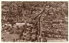 Air Aerial View St Albans RP old pc used 1955 Aerofilms Photo Precision
