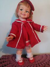 VINTAGE IDEAL DOLL GIGGLES 1960,S 18 INCH