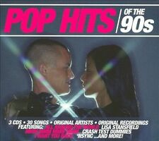 Pop Hits of the 90s - Various Artists - 3 CD Box Set - BRAND NEW !