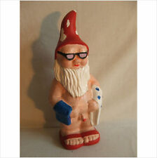 LATEX MOULD MOULDS MOLD.  GNOME GOING TO THE BEACH  (2017)