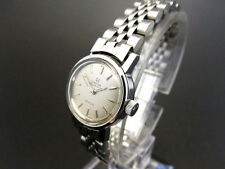 RARE!! OMEGA DE VILLE AUTOMATIC Vintage Watch 5404 Stainless Steel [183]