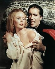 "Veronica Carlson / Christopher Lee Hammer Films 10"" x 8"" Photograph"