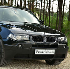 Eyebrows for BMW X3 E83 2004-2010  headlight eyelids lids ABS Plastic
