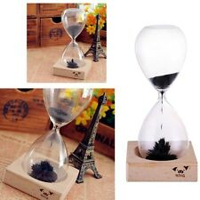 Magnetic Timer Sand Hourglass Desktop Decoration Iron Fillings Present Clock NEW