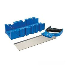 EXPERT MITRE BOX & SAW SET - GREAT VALUE