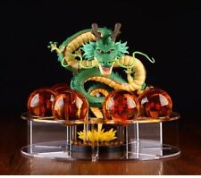 JP Anime Cartoon Dragon Ball Z Stars Crystal & Dragon Shenlong & Display bracket