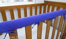 Baby Cot Crib Teething Rail Cover Purple Fits Boori 100% Cotton