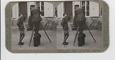 WWI Stereoview (Realistic) -Prince of Wales discusses cinematography w/ Girdwood