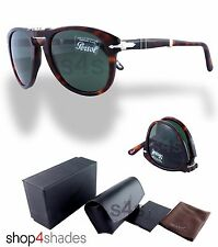 Persol Steve McQueen Folding Sunglasses HAVANA_CRYSTAL GREEN 0714 24/31