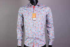 New Etro Button-Front Etro Casual Men's Shirt Size XL(43)