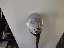 USED LADIES HOWSON ATTACKER HYPER STEEL HYBRID 21', RIGHT HANDED, WITH HEADCOVER