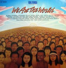 "USA for AFRICA We Are The World 12"" Single - Michael Jackson"