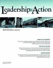 Leadership in Action, No. 1, 2002 (J-B LIA Single Issue Leadership in Action) (V