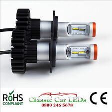 Latest LED Headlights P45T 9200 Lumen Hi/Lo Beam Conversion 12V 16 x Z-ES Chips