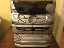 Kenwood 1998 XD-A5 HiFi Component 140W CD Changer Cassettes AM/FM RADIO HEADPHON