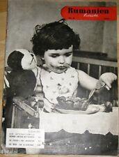 Rumänien heute - Zeitschrift Heft 6/1958 / Romania Kulturabkommen mit China u. a