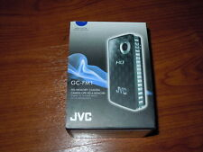 New in Open Box - JVC PICSIO GC-FM1 HD Memory Camcorder - BLUE - 046838041419