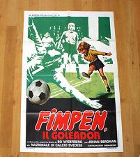 FIMPEN IL GOLEADOR manifesto poster affiche Sport Calcio Pallone Goal Svezia