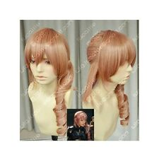 Final Fantasy 13 Lightning serah Fashion Long Mix pink Cosplay Wig