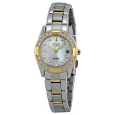 Citizen Ladies Regent Mother of Pearl White Dial Eco-Drive Watch EW1824-57D