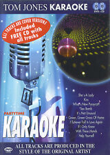Tom Jones : Partytime Karaoke (DVD + CD)