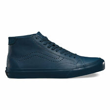 Brand New VANS LEATHER COURT MID DX Leather Midnight Navy SZ US M 11 EUR 44.5