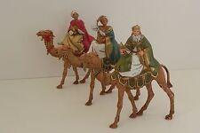 Landi Wise Men Nativity Set Presepio Kings Reyes Magos Pesebre Manger Scene
