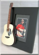 JOHN LENNON Miniature Guitar Frame Martin D-28 75th Anniversary Beatles