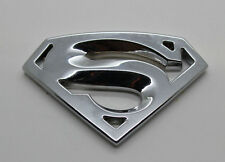 Details about  Car Auto Logo 3D Metal stickers Emblem Badge Decals Superman