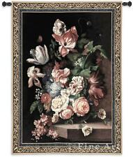 """Flowers Of Grace Floral Tapestry Bouquet Vase Picture 76""""x53"""""""