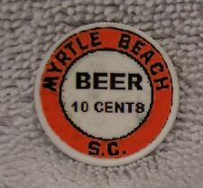 Colorized Coin - Myrtle Beach S.C. Beer - Washington Quarter Painted
