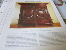 Hamburg Archiv 4 Kunstwerke 4079 Hamburger Dielenschrank Nußbaumholz 1700