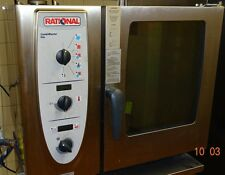RATIONAL COMBI MASTER GAS STEAMER-MODEL #CM61G