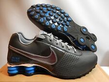 NIKE SHOX DELIVER ANTHRACITE-STEALTH-BLUE SPARK-BLACK SZ 11.5 [317547-003]